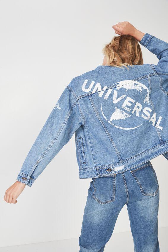 New Boyfriend Fashion Denim Jacket, UNIVERSAL