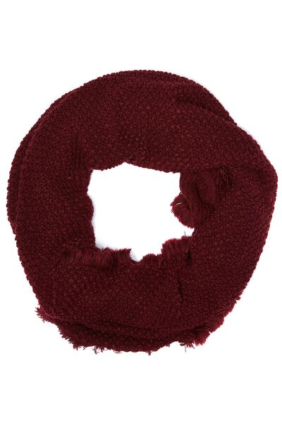 Indiana Knitted Snood, ZINFANDEL