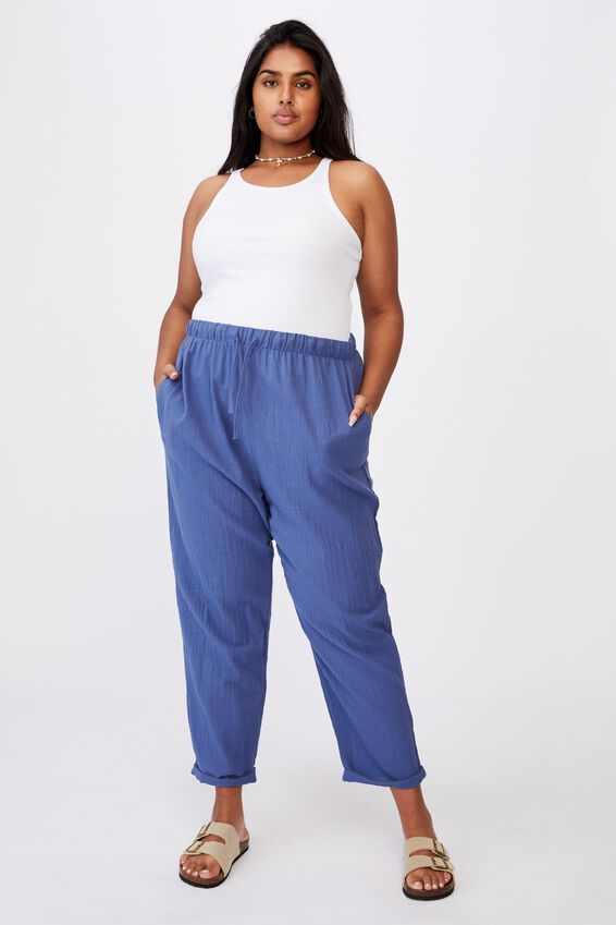 Curve Cali Pull On Pant, COASTAL BLUE