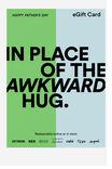 Fathers Day Awkward Hug