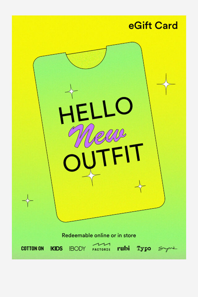 eGift Card, New Outfit