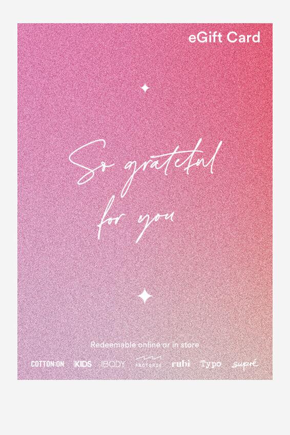 eGift Card, Cotton On Christmas Gratitude