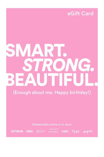 eGift Card, Cotton On Body Happy Birthday