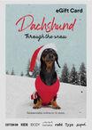 Typo Dachshund Through The Snow