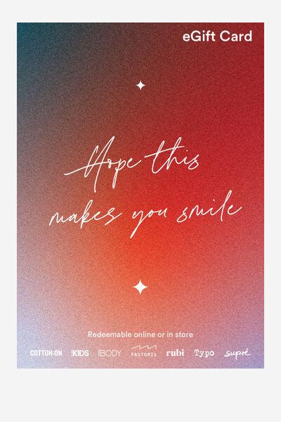 eGift Card, Cotton On Christmas Smile
