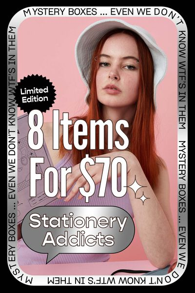 Stationery Addicts Mystery Box Limited Edition, Stationery Addict