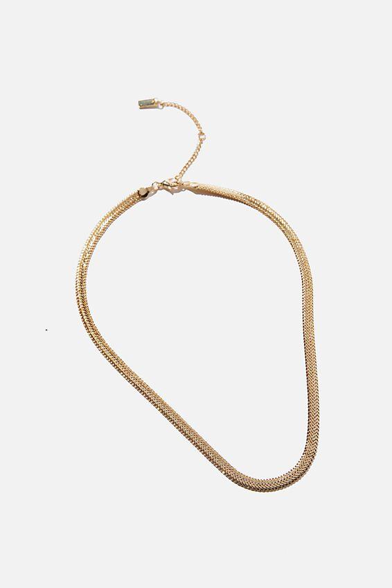 Forever Necklace Multipack, Gold