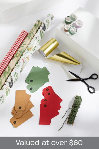 Australian Natives Christmas Wrap Bundle, Australian Natives Christmas Wrap Bundle