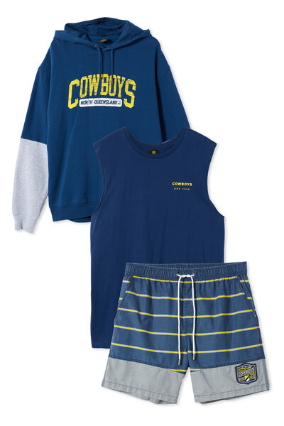 NRL Mens gifting bundle, Cowboys