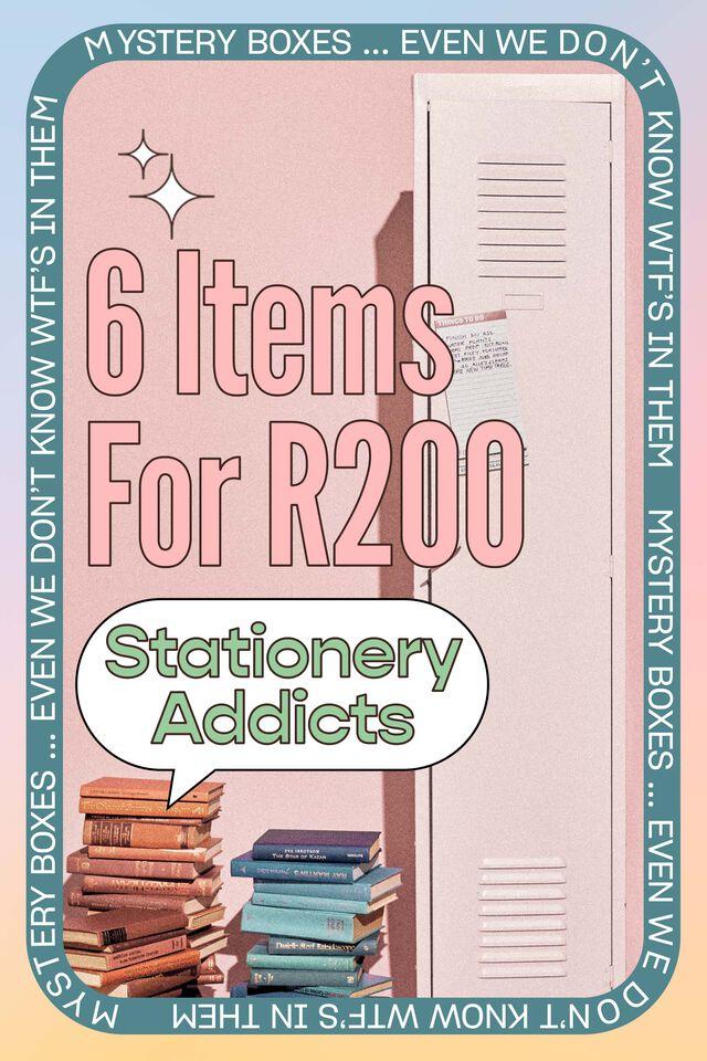 Stationery Addicts Mystery Box, Stationery Addicts Box