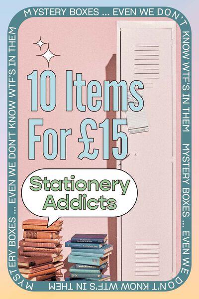 Stationery Addicts Mystery Box, Stationery Addicts Mystery Box