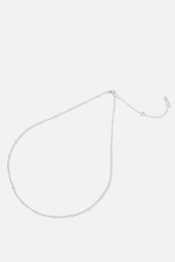 Pendant Necklace Multipack, Silver