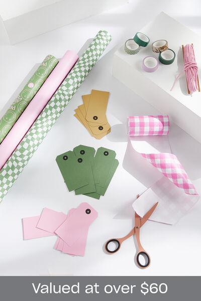 Smiley Christmas Wrap Bundle, Smiley Christmas Wrap Bundle