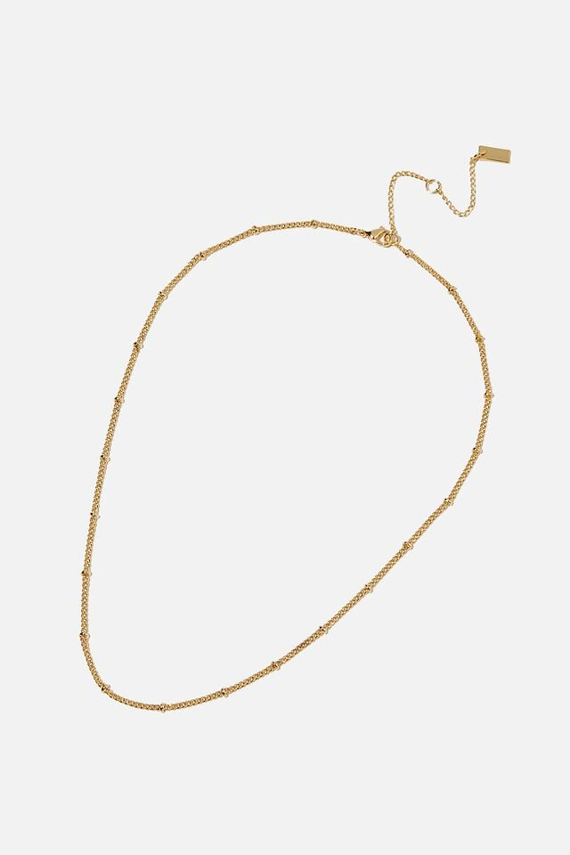 Pendant Necklace Multipack, Gold