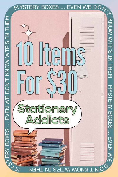 Stationery Addict Mystery Box, Stationery Addict Mystery Box