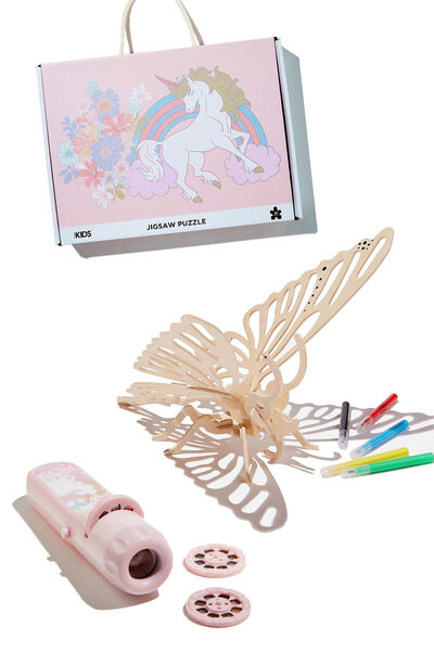Boredom Buster Gifting Bundle, Rainbow Butterfly