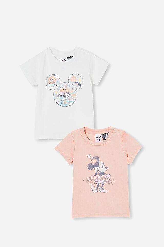 Disneyland Jamie Tee Bundle, Lcn Dis Mickey Resort/ Vintage Minnie