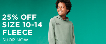 Teen Fleece. Shop Now.