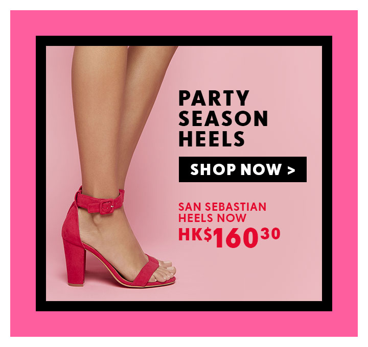 Shop Black Friday | Shop 30 – 50% Off | Shop Heels Online