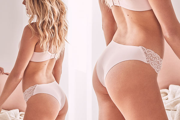 Women's Brasiliano Brief | Show off a little more cheek… Our brasiliano brief is a low rise pantie with mini cheek coverage.