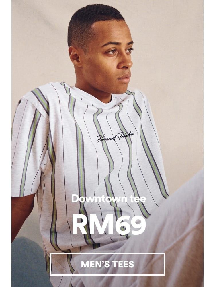Men's Downtown Tee. Click to shop