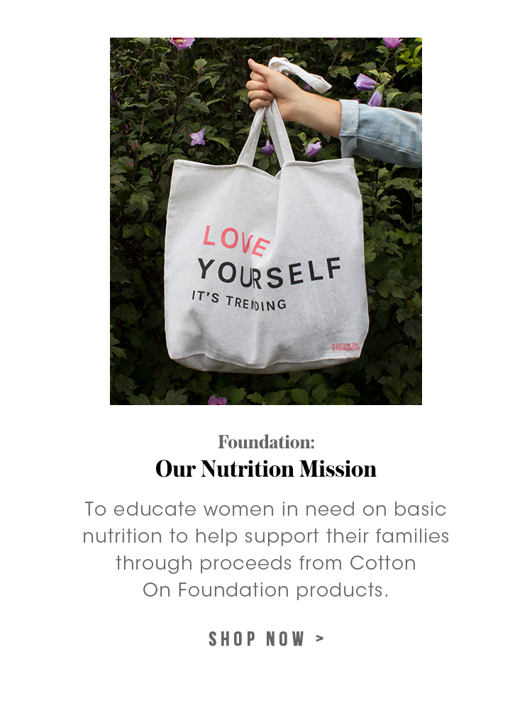 Foundation: Nutrition Mission