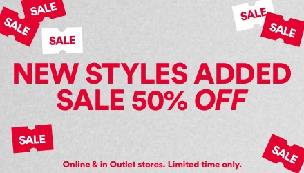 Outlet. Click to shop