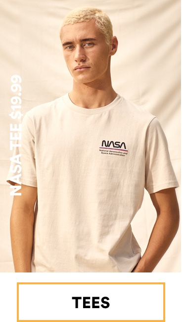 Men's Nasa Tee $19.99. Click to Shop.