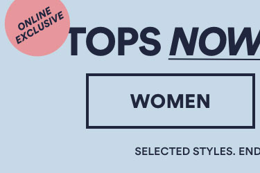 Tops Now From $60. Click to Shop Womens.