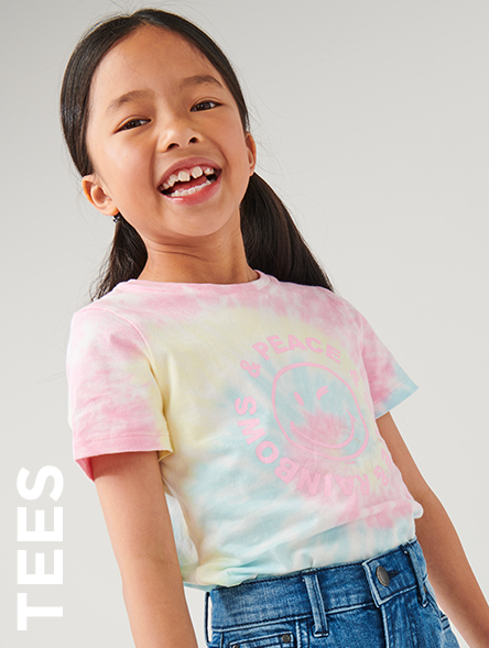 Click to Shop Girls Tees