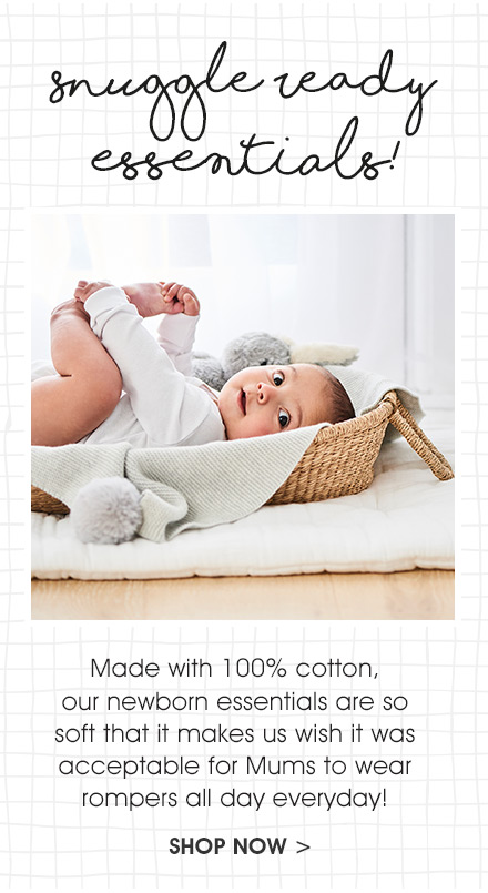 Shop Baby Newborn Essentials