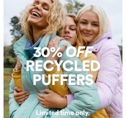 Puffers Offer. Click to shop.
