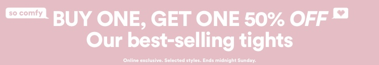 Buy One Get One 50% Off Our Best Selling Tights