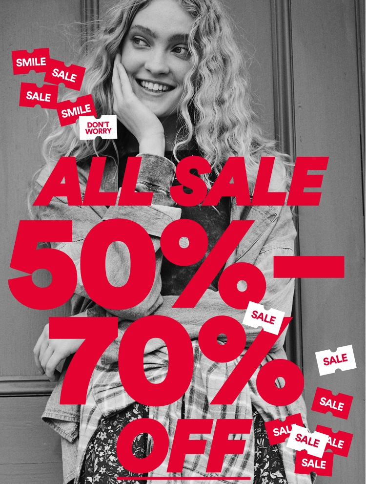 All Sale 50-70% Off. Click to shop.