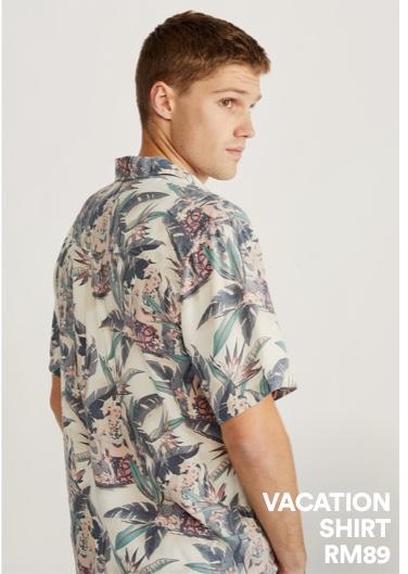 Men's Vacation Shirt. Click to shop