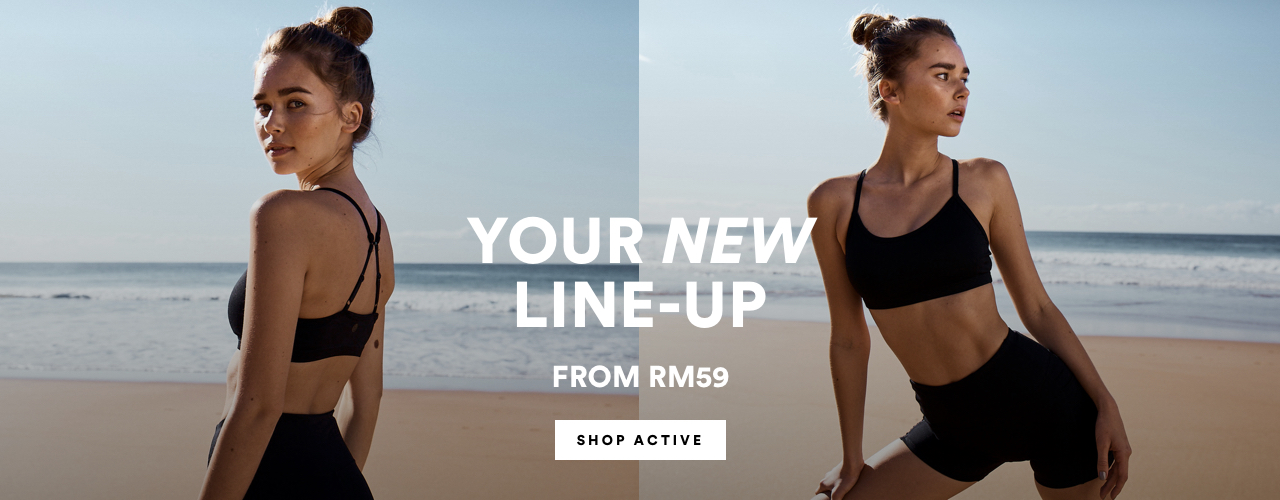 Your New Line-Up. Click to Shop Active from $19.95.