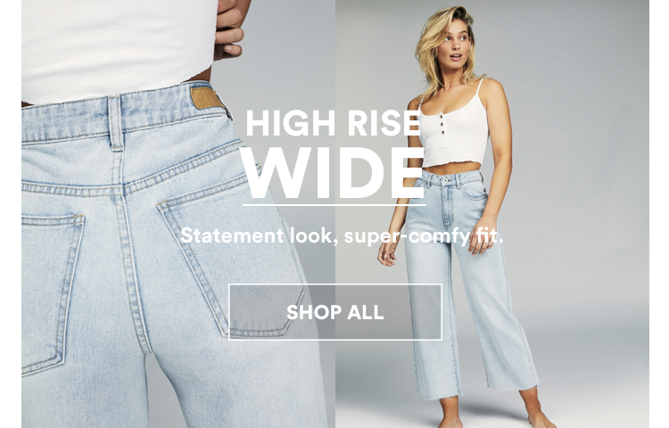 Cotton On High Rise Wide Jeans. CLick to shop