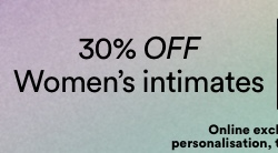 30% off Women's Intimates. Click to Shop