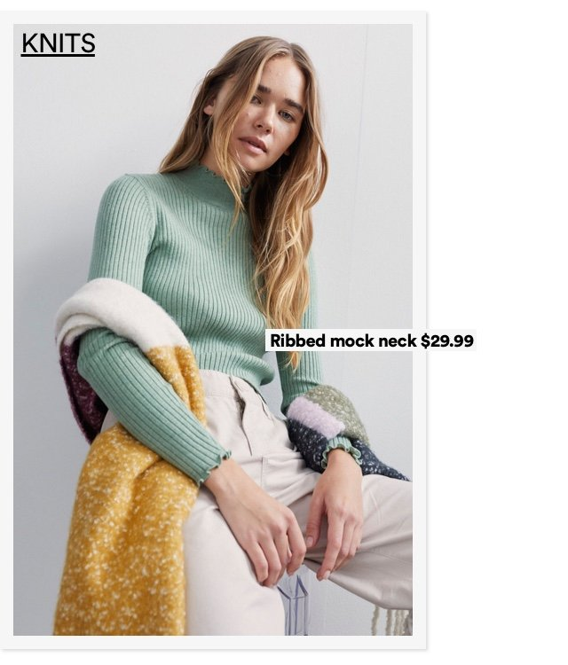 Women's Knits. Click to Shop