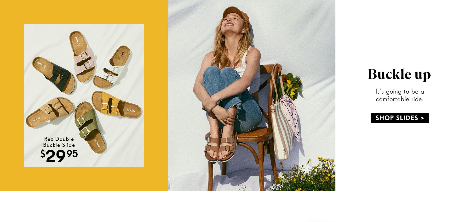 Slides | Shop Rubi Now
