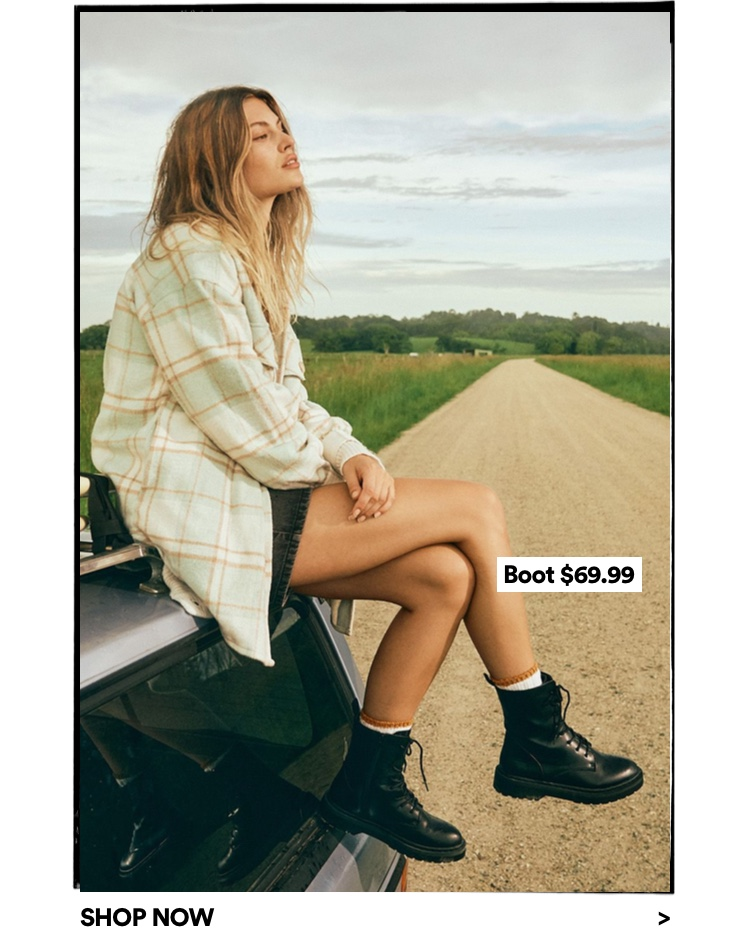 Womens Boots. Click to shop.