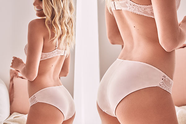 Women's Bikini Brief | Our best-selling basic brief. The classic bikini is a low rise pantie with midi cheek coverage.