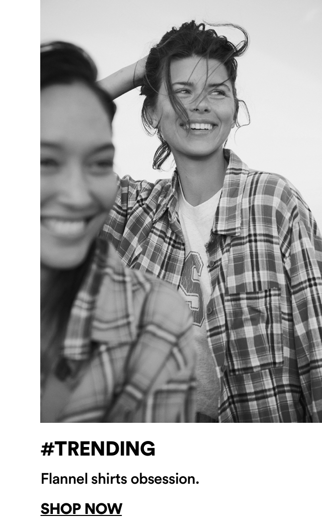 Cotton On Women's Trending Flannel Shirts. Click to shop.
