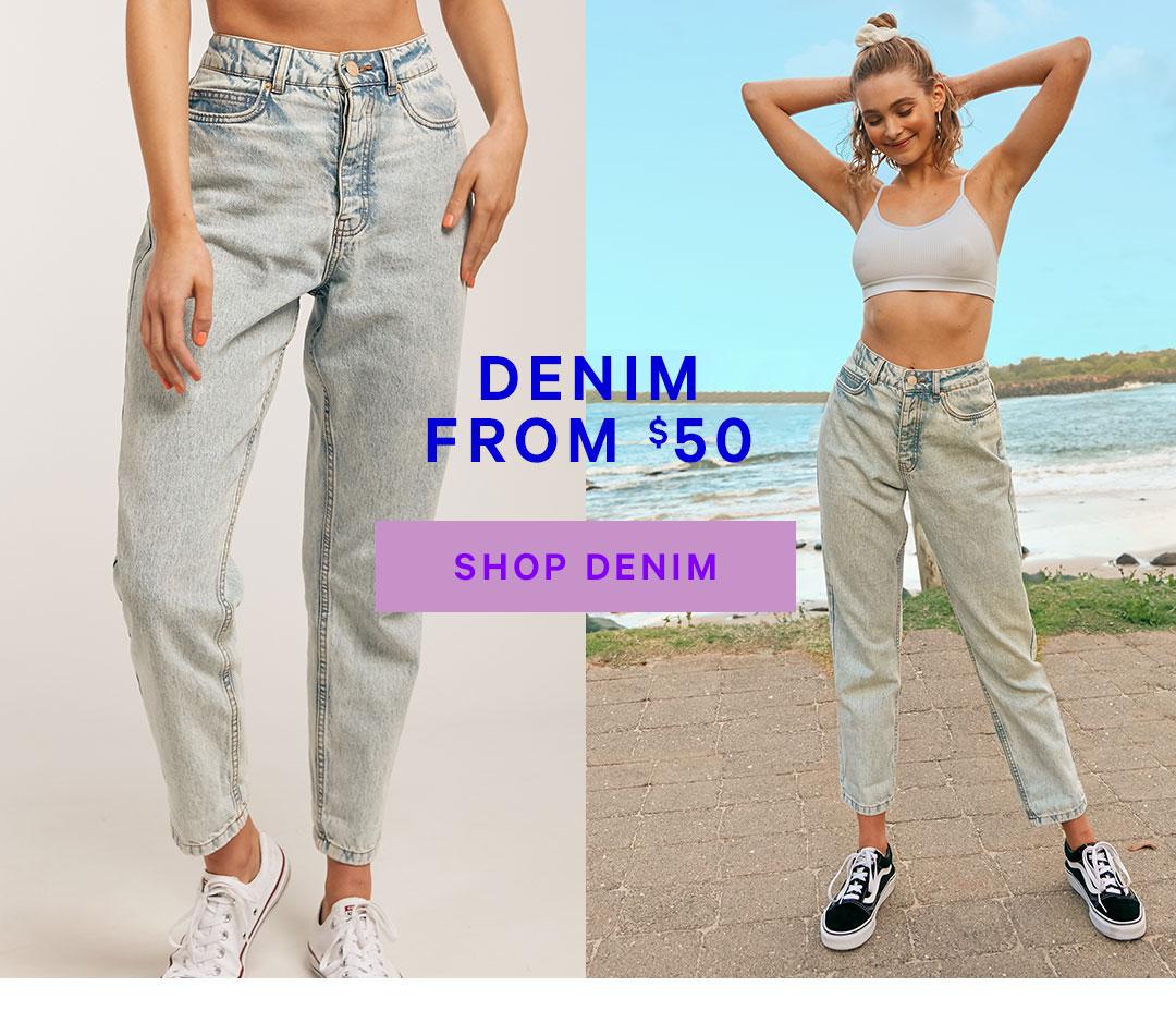 Shop Denim From $50