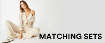 Women's Matching Sets. Click to Shop.