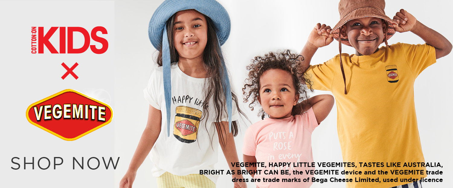 Vegemite. Shop Now.