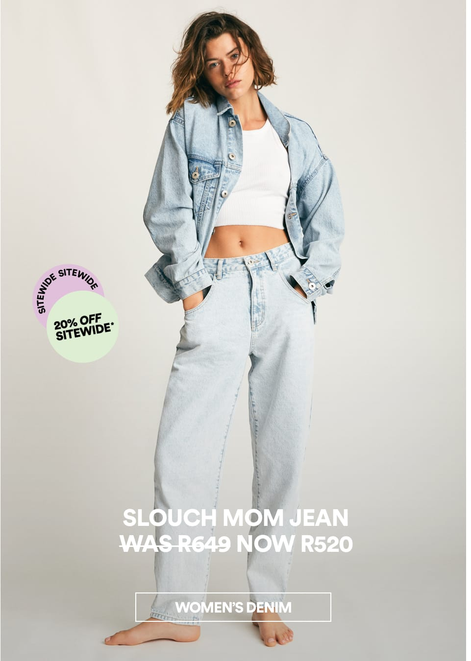 Slouch Mom Jean. Shop Now.