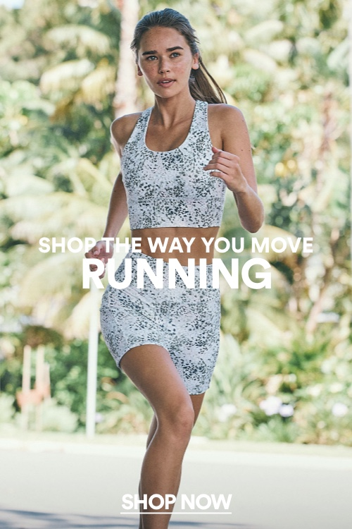 Shop The Way You Move. Running. Shop Now