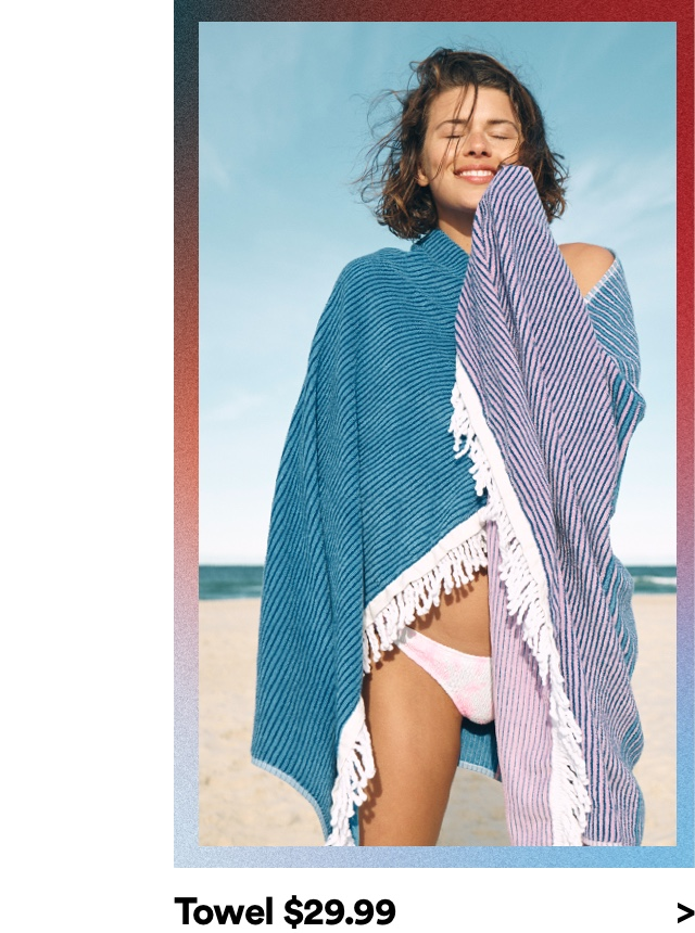Cotton On Towels. Click to shop