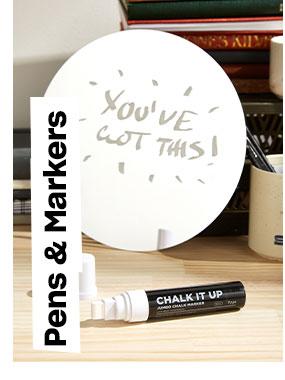 Shop Pens & Markers